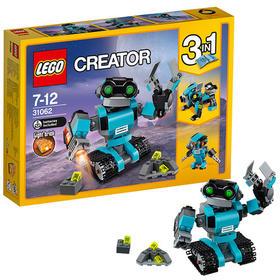 乐高创意百变系列 31062 机器人探险家