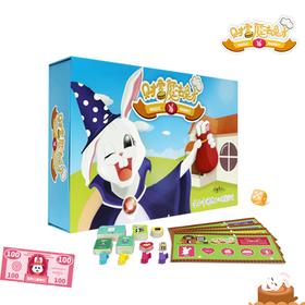 财富魔法兔子儿童财商桌游