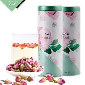 CHALI茶里 | 玫瑰花茶 干玫瑰花玫瑰茶花蕾花瓣花茶散装罐装
