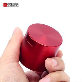 圆罐茶迷你便携旅行钛合金小罐茶包装