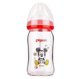 贝亲Disney宽口径玻璃奶瓶160ml