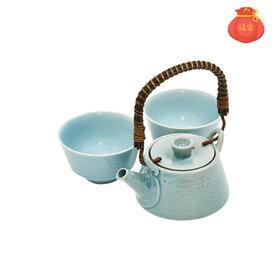 水蓝色茶汤碗&茶汤壶