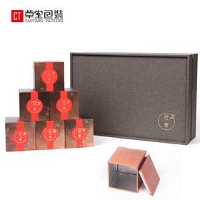 大师造小罐子茶叶包装礼盒绿茶包装铁罐定制高山龙井绿茶包装草堂