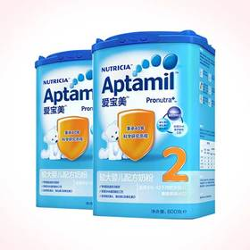 Aptamil爱宝美 爱他美2段较大婴儿配方奶粉 6-12个月