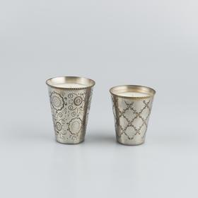新西兰原产illumina soy candles 银色礼盒套装