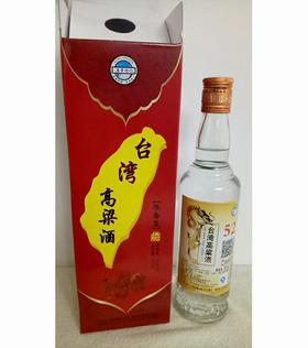 纯粮酿造 52°台湾高粱酒 450ml*6瓶 入口热辣不上头