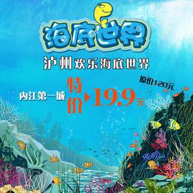 内江第一城超级粉丝泸州欢乐海底世界专属预订票(非第一城工作人员请勿购买)