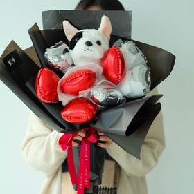 【萌主】狗年创意气球花束创意礼品