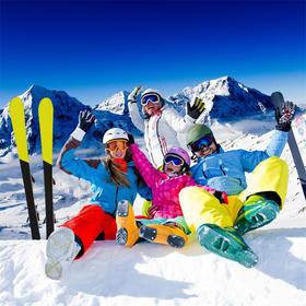 【欢乐亲子游】大别山滑雪乐园+天悦湾温泉+白水湾玻璃桥二日游