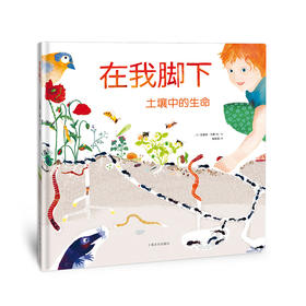 """在我脚下 土壤中的生命——美育史诗级大开本""""教科书"""",给孩子以美的启蒙"""