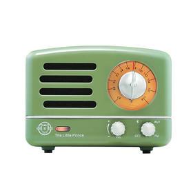 猫王收音机 蓝牙音箱 复古绿