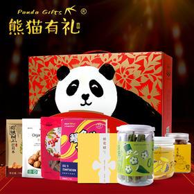 熊猫有礼 怀旧味道零食礼盒(8件装) 满满的回忆,熟悉的味道