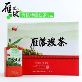 东至特产 雁落坡有机红茶东至红茶高端红茶礼盒装