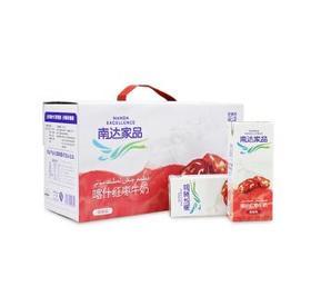 瑞安淘【南达】 喀什红枣牛奶 调制乳 成人早餐奶 风味奶 南达红枣奶 250ml12盒箱
