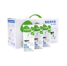瑞安淘【南达】冰川牧场 音苏提新疆有机纯牛奶 全脂奶 成人早餐奶 南达有机奶 冰川利乐砖 250ml12盒箱