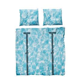 Snurk泳池全棉被套双人被罩枕套200*230cm (Snurk Pool Bed Linen Set 200*230cm)