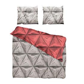 Snurk折纸全棉被套双人被罩枕套200*230cm (Snurk Monogami Bed Linen Set 200*230cm)