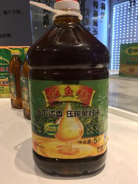 红鱼塘菜籽油5L