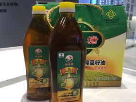 红鱼塘菜籽油 900ml