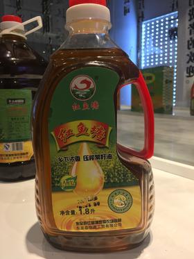 红鱼塘菜籽油1.8L