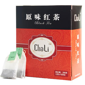 CHALI茶里 | 红茶茶包100包 袋泡茶 | 酒店客房餐饮用茶