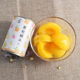 【积分兑换】黄桃罐头425g*5罐 新鲜水果对开特产即食零食出口糖水罐头