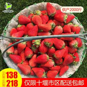 郧阳区月亮湖生态红颜草莓 3斤\5斤装