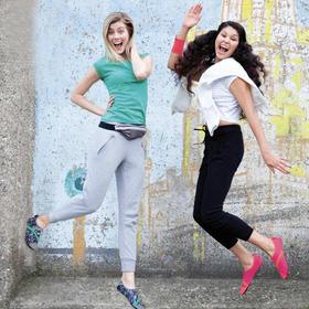 【海外爆款 颠覆出行】美国FITKICKS赤足呼吸鞋 超轻弹力鞋 便捷舒适 女士经典系列