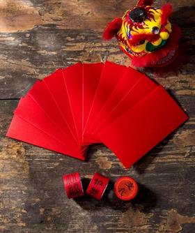 字在  年节礼盒  百家姓红包春节礼盒  红包套装+创意礼盒套装