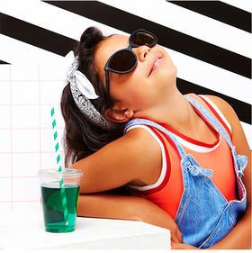 法国潮牌 KIETLA 儿童防紫外线太阳眼镜   6~12岁