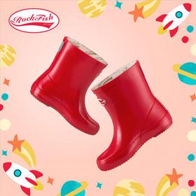 英国 Rockfish 时尚儿童低筒 / 中筒雨靴!好莱坞爆款!可当靴子穿的英国雨靴,又潮又酷,百搭显腿瘦!防雨防滑还保暖!