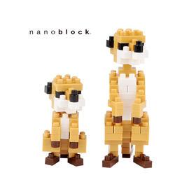 日本NANOBLOCK益智拼装积木玩具  猫鼬