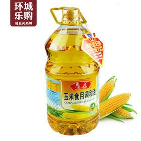 鲁花非转基因玉米食用调和油5L-619180