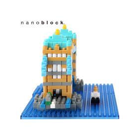 日本NANOBLOCK益智拼装积木玩具  伦敦桥塔
