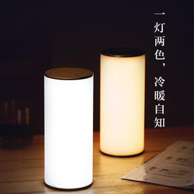 【一灯两色 自由切换】爱浦达IPUDA 护眼反转灯 床头灯 起夜灯 手机补光灯 户外氛围灯 Q8