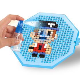 神奇水雾钻石颗粒像素积木DIY手工制作拼装益智玩具魔法拼豆礼物