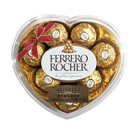 费列罗榛果威化巧克力8粒心形装T8   100g