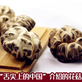 中国舌尖推荐 康在此 房县椴木小花菇150g