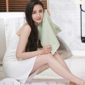 【高档定制款 非商超款 G20特供品牌】洁丽雅全棉时代浴巾毛巾套装   1浴巾+2方巾+2毛巾
