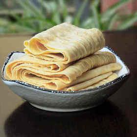 舌尖美食 传统手作 豆皮优品 石屏原汁豆皮 3斤/盒(内含3包,每包1斤)