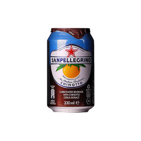 圣培露柑橘味碳酸饮料330毫升