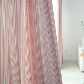 纯色竹节棉 彩条棉全遮光