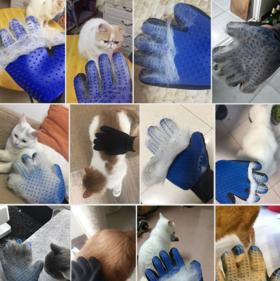 猫毛狗毛,一撸就干净,神器除毛刷宠物清理手套洗澡按摩手套