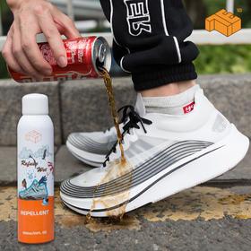 【喷了它,鞋子就像穿了隐形雨衣】chie美国纳米黑科技喷雾   防水防污防尘  喷1次管15天