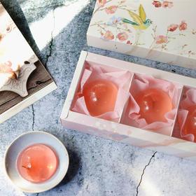 【樱花季超高颜值礼物】日式创意樱花果冻樱花布丁水信玄饼礼盒
