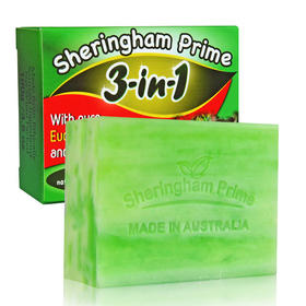 【澳洲国宝 一皂五用】喜运亨除螨皂 天然配方 手工冷制