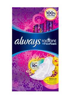 美国最好用的卫生巾Awlays 日用30片