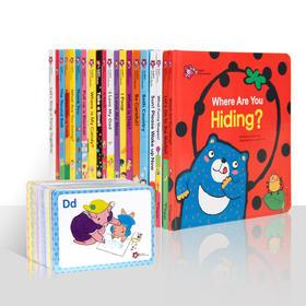 盖世独家: English Picture Books甜心英语(20本套装甜心书)配100张闪卡