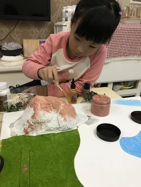 《石窟造景》儿童系列工作坊
