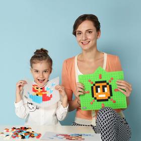 顽意 儿童益智拼图玩具智力开发动脑像素拼图面板儿童早教拼图面板
